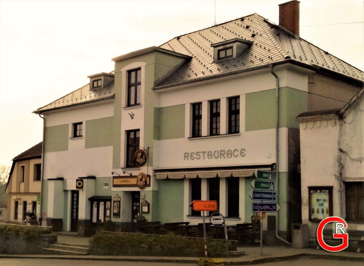 Restaurace U Sokola, exteriér 2