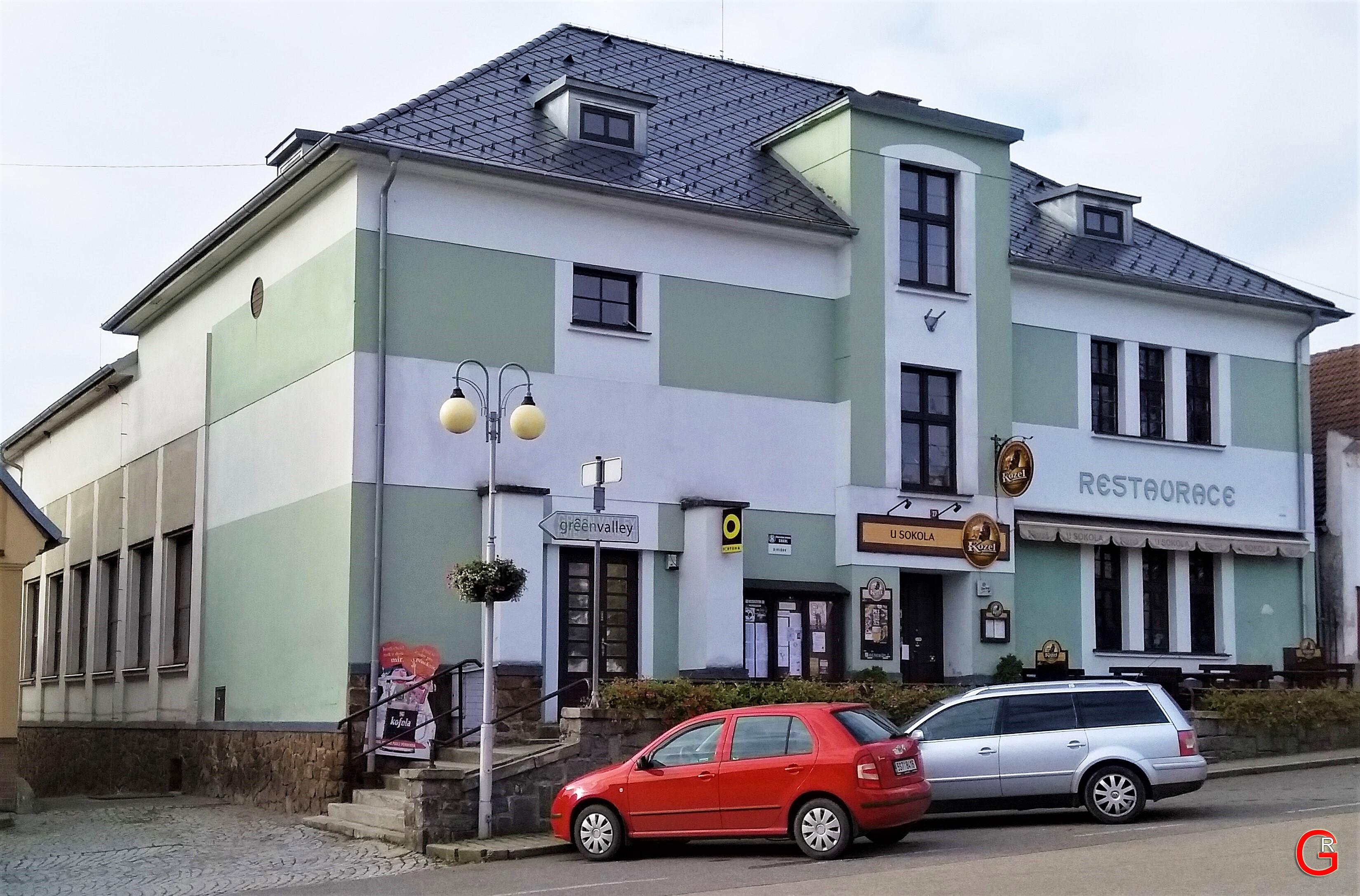 Restaurace U Sokola, exteriér 1