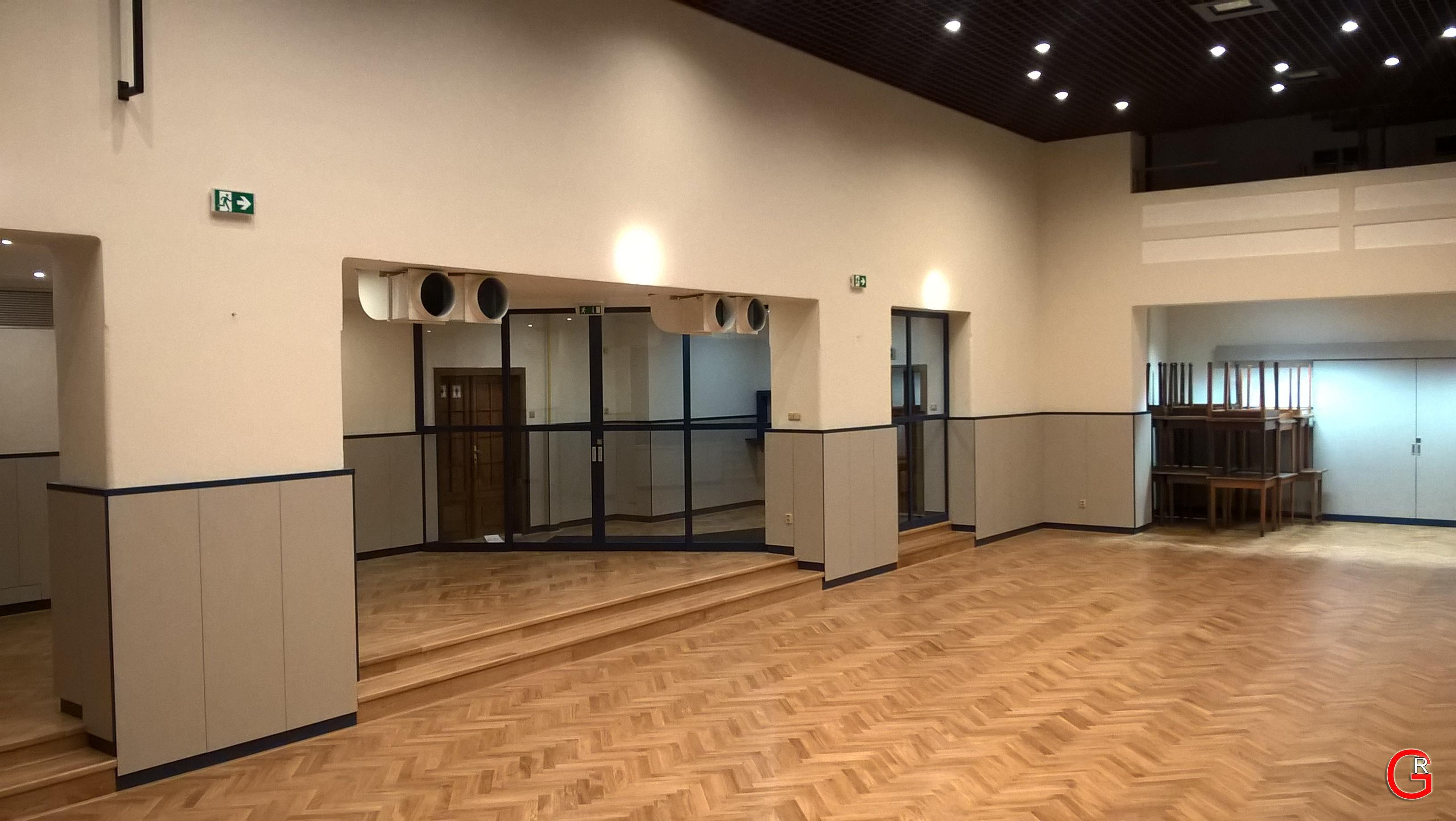Sokolovna Divišov - sál 3